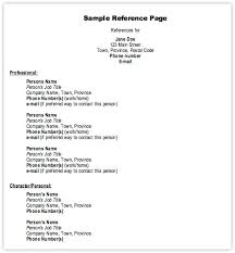 Resume Template For Rec Letter Reference Resumes Sample Ideas