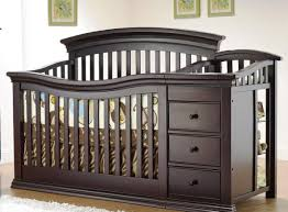 Davinci Kalani Dresser Espresso by Table Baby Crib With Changing Table Stunning Convertible Crib