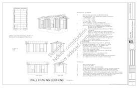 Free 10x12 Gambrel Shed Plans by Shed Plans Vip12 X 20 Shed Plans Free Diy Plans U2013 We Make Points