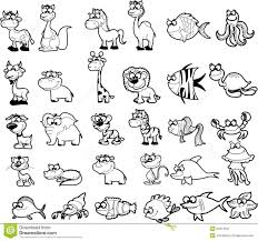 Forest Animals Clipart Black And White ClipartXtras