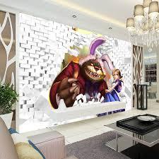 Free Shipping League Of Legends Photo Wallpaper 3D Classic Game Wall Mural Custom Boys Bedroom Livingroom Silk Art Room Decor Kids Home
