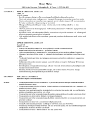 Senior Executive Assistant Resume Samples | Velvet Jobs Executive Assistant Resume Sample Complete Guide 20 Examples Assistant Samples Best Administrative Medical Beautiful Example Free Admin Rumes Created By Pros Myperfectresume For Human Rources Lovely 1213 Administrative Resume Sample Loginnelkrivercom 10 Office Format Elegant Book Of Valid For Unique