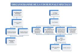 chambre d appel organigramme de la cour pénale spéciale site officiel de la cour