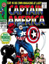 Captain America 1968 Comic