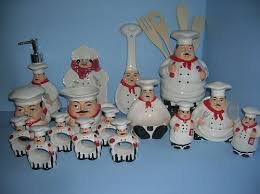 Fat Italian Chef Kitchen Theme by Fat Bistro Chef 3d Ceramic Kitchen 20 Pcs Set New Kitchen Stuff