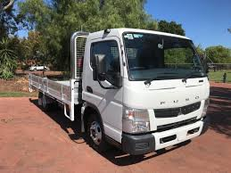 100 Mitsubishi Commercial Trucks 2014 Canter 515 Wide CAB White For Sale In