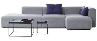 canapé ées 70 canapé d angle mags l 302 cm accoudoir droit gris clair