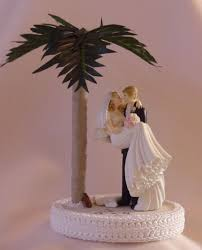Beach Wedding Cake Toppers Tops