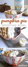 Freezing Pumpkin Puree For Smoothies by Pumpkin Pie Smoothie Bowl The Nutiva Kitchen Table
