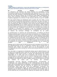 Carta Notificacion Que Es