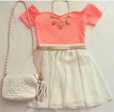 Dress Amazing Neklas Skirt Topp Tank Top Wow Style Outfit Girly Girl Cute
