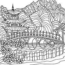 Japanese Coloring Book For Adults Android And IOS