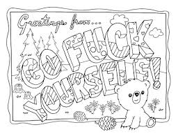 Full Size Of Coloring Pageword Pages Swear Books Sweary Book 1 Bullsh T