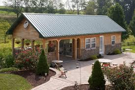 Pole Barn Interior Designs Custom Buildings Timberline Building
