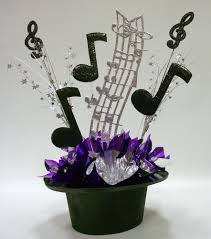 Graduation Table Decorations Homemade by Music Themed Centerpiece Kit For Party Table Decorations Tables