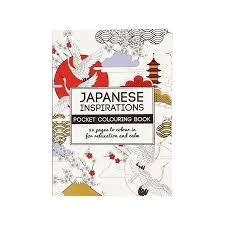 Pocket Coloring Book Japanese Inspirations