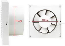 15cm vingo ø 150mm badlüfter wandlüfter ventilator silent