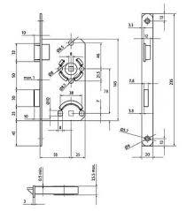 bks badezimmer türschloss vierkant falle riegel aus
