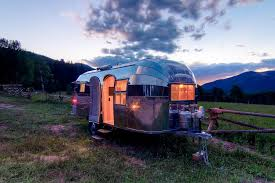 100 Restored Travel Trailer Stunning 1954 Airstream Flying Cloud