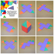 try building each of the 7 different magna tiles patterns to build