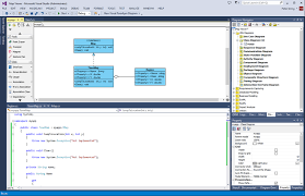 Decorator Pattern C Code Project by Generating C From Class Diagram In Visual Studio