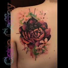 Flower Cover Up TattooTattoo Idea By Tatu Lique Like Think