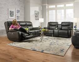 velocity double reclining sofa with power headrest by southern