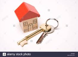 Housing Home Sweet First Time Buyer House Keys To New Property