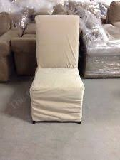 Pottery Barn Napoleon Chair Slipcover by Pottery Barn Velvet Solid Pattern Chair Slipcovers Ebay