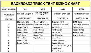 outdoors backroadz 13 full size short bed truck tent 6 5ft