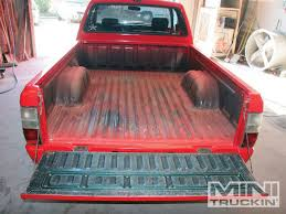 Zolatone Spray Bed Liner Old School Mini Truckin Magazine
