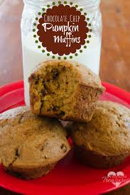 Pumpkin Cake Mix by Easy Chocolate Chip Pumpkin Muffins Pint Sized Treasures