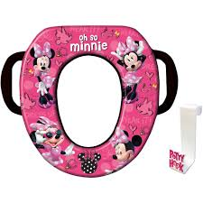 Dining Room Chair Cushions Walmart by Disney Minnie Mouse Soft Potty Seat Walmart Com