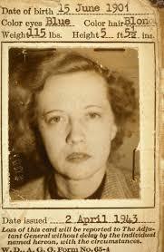 Ruth Cowan Wwii Press Credentials