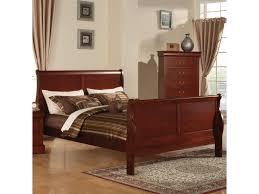 acme furniture louis philippe iii california king transitional