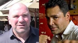 Oscar Dela Hoya Cross Dresser by Dana White Blasts Oscar De La Hoya For Mayweather Mcgregor Comments