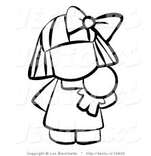 Drawn Dall Baby Doll
