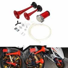Universal Motorcycle 12V Air Horn 135DB Complete Set Loud Dual ... Dual Super Loud Blast Tone 12v Electric Grille Mount Compact Horns Red 24v 128db Air Horn Truck Car Trumpet Train 24 Volt Stebel Nautilus 139db Bla Auto Accsories Headlight Bulbs Gifts Single Amazoncom 140db Viair Universal Motorcycle 135db Complete Set 1pcs For 110db Antique Vintage Old Freightliner Classic Xl With Loud Train Horn Mavi Trucking Armed Horns And Their Voices Striking Verizon Workers Tech 12v Truck Air Youtube