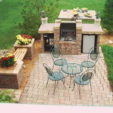 Reader Project Patio Featuring OpenFire Brick Barbecue Bar Deck
