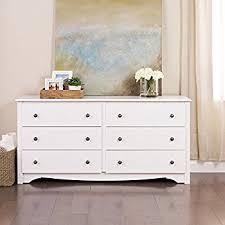 Sauder Shoal Creek Dresser Soft White Finish by Amazon Com Home Styles 5530 43 Naples White Dresser Kitchen U0026 Dining