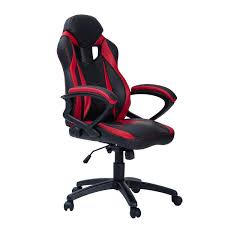 Merax Ergonomic Gaming Chair Racing Style Computer Desk Chair PU Leather  Adjustable Executive Office Chair High Back Swivel Chair For Home And  Office ...