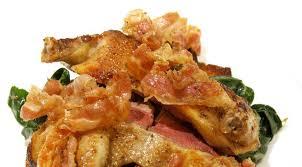 cuisine pigeon bruschetta recipe an exclusive pigeon and chanterelles bruschetta