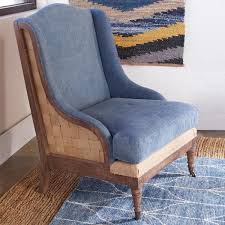 Rustic Denim Wingback Chair | Farmhouse Chic | Outdoor ... Baxton Studio Patterson Wingback Beige Linen And Burlap Nailhead Tufted Accent Chair Sure Fit Striped Slipcover Products Custom Slipcovers By Shelley Gray Waterfall Skirt Couch Wingbackchaenviroment2 Decoration Inc Pin Gail On Stuff To Make For Chairs Upholstery Leather 53 Market Rustic Denim Farmhouse Chic Outdoor Youll Love In 2019 Wayfair Subrtex 2piece Elegant Jacquard Wing Back Cover Covers Chocolate 34 Examples Of Lavish Photographs Loose For Ding Making Room Loccie Better Homes