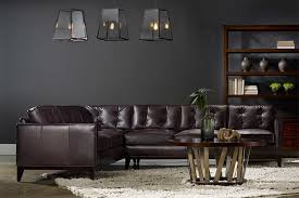 Bradington Young Leather Sectional Sofa by Leather Furniture From Bradington Young Hooker Furniture