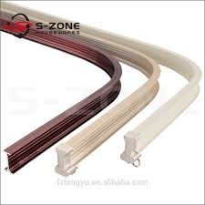 Ceiling Mount Curtain Track Bendable by Garage Sliding Door Track Bending Curved Curtain Track Buy