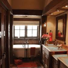 Rustic Bathroom Lighting Ideas by Exciting Rustic Bathroom Lighting Ideas Diy Wood Beam Light Home