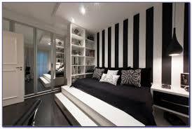 schwarz weiß tapete für schlafzimmer zimmer schlafzimmer