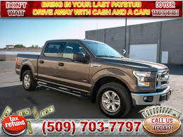 Pre-Owned 2017 Ford F-150 XLT 4x4 2.7L V6 EcoBoost Truck 4WD ...