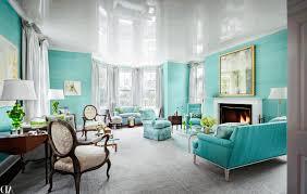 Living Room Light Turquoise Simpl Wooden Flooring Artistic Silver Horse Head Figurine Simple Dark