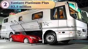 Top 5 Most Expensive Motorhomes RV Recreational Vehicles In The World